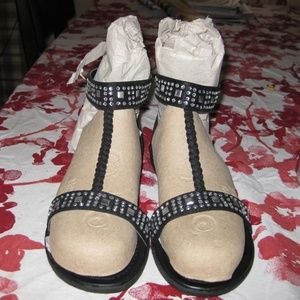 RELISTED, Lane Bryant Stud Sandals
